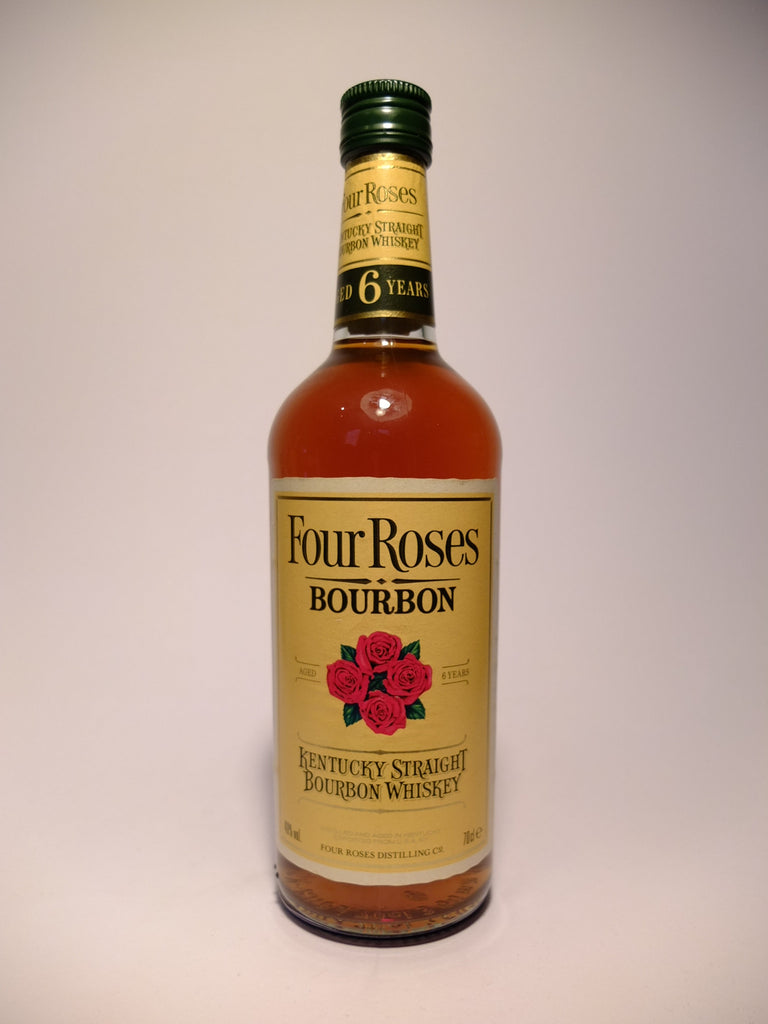 Four Roses 6 Year Old Kentucky Straight Bourbon Whiskey - Late 1970s/Early 1980s (40%, 70cl)