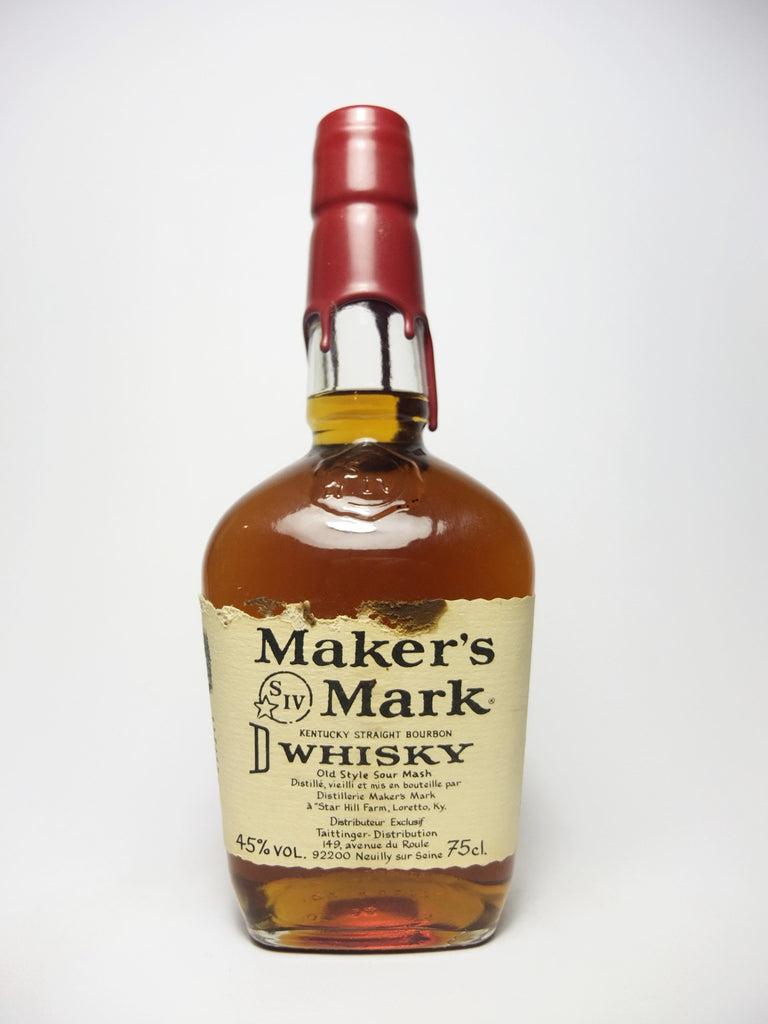 Maker's Mark Kentucky Straight Bourbon Whiskey - Bottled 1994 (45%, 75cl)