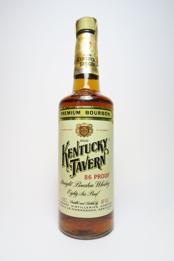 Glenmore's Old Kentucky Tavern Premium Kentucky Straight Bourbon Whiskey - 1960s (43%, 75cl)