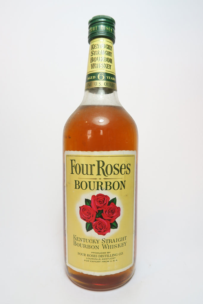 Four Roses 6YO Kentucky Straight Bourbon Whiskey - 1970s (43%, 94.6cl)