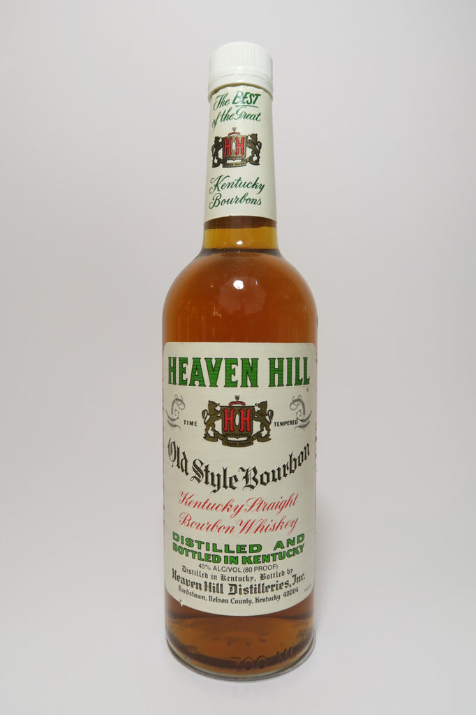 Heaven Hill 4YO Kentucky Straight Bourbon Whiskey - Distilled 1994, Bottled 1998 (40%, 70cl)