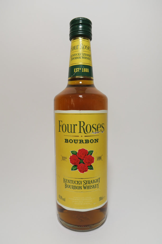 Four Roses 4YO Kentucky Straight Bourbon Whiskey - 1990s (40%, 70cl)