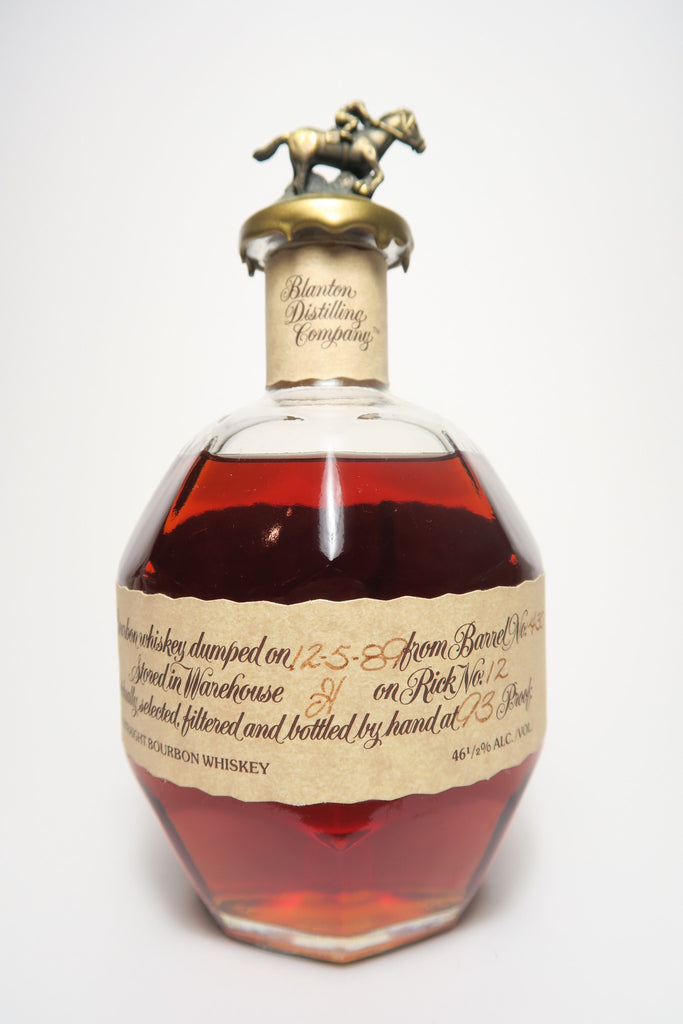 Blanton's Single Barrel Kentucky Straight Bourbon Whiskey - Dumped 1989 (46.5%, 70cl)