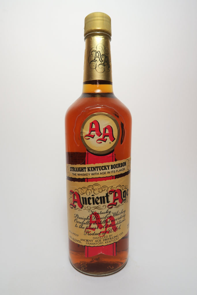 Ancient Age Kentucky Straight Bourbon - 1970s (40%, 75cl)