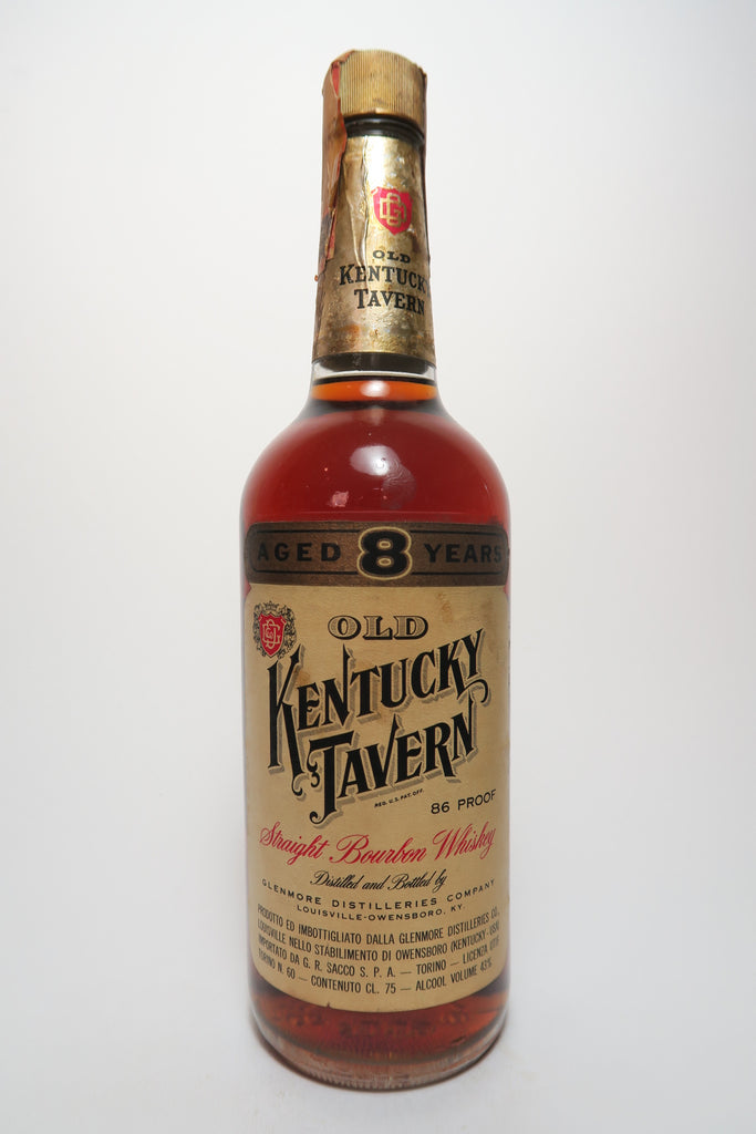 Kentucky Tavern 8YO Straight Bourbon Whiskey - Distlled 1964 / Bottled 1972 (43%, 75cl)