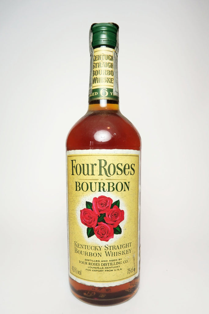 Four Roses 6YO Kentucky Straight Bourbon Whiskey - 1980s (43%, 75cl)