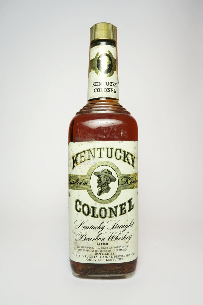 Kentucky Colonel 4YO Kentucky Straight Bourbon Whiskey  - 	Distilled 1970 / Bottled 1974 (43%, 75cl)