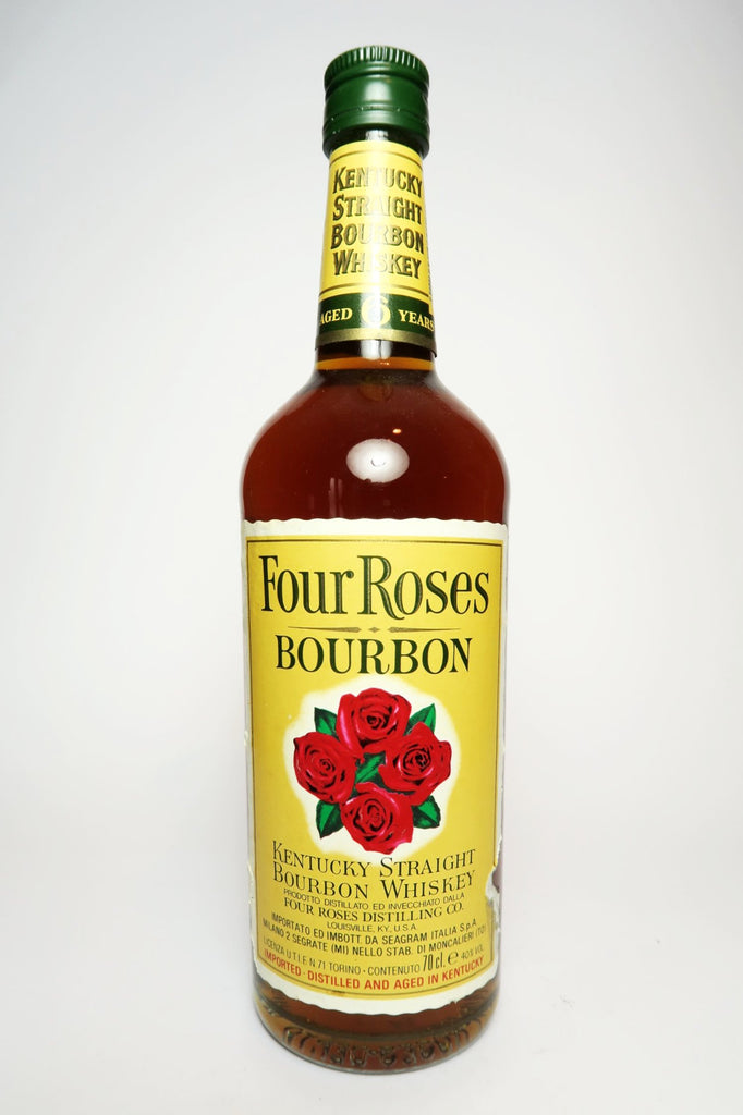 Four Roses 6YO Kentucky Straight Bourbon Whiskey - Early 1980s (43%, 75cl)