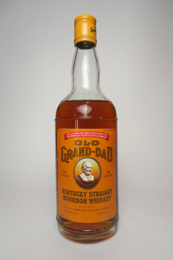 Grand Dad 6YO Kentucky Straight Bourbon Whiskey - Distilled 1965 / Bottled 1971 (43%, 70cl)