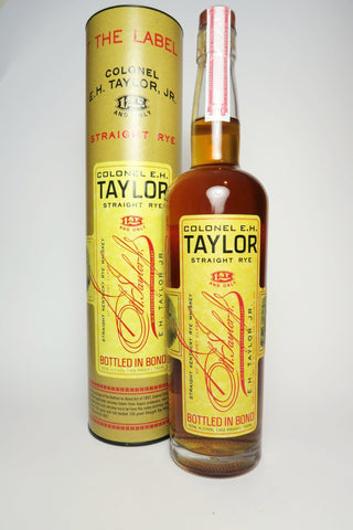 Colonel E.H. Taylor Kentucky Straight Rye Whiskey - Bottled 2018 (50%, 75cl)