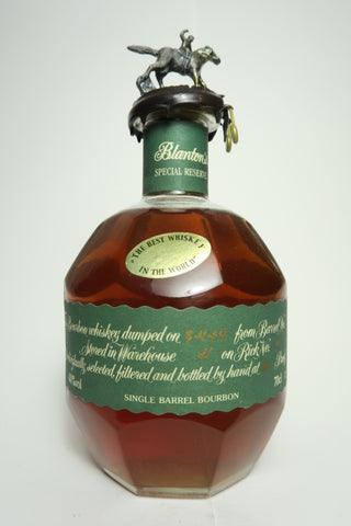 Blanton's Special Reserve Single Barrel Kentucky Straight Bourbon Whiskey - Dumped 2004 (40%, 70cl)