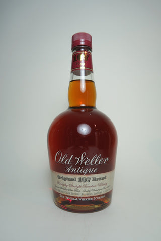 Old Weller Antique Original 107 Brand Kentucky Straight Bourbon Whisky - Bottled pre-2016 (53.5%, 70cl)