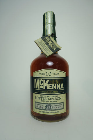 Henry McKenna 10YO Single Barrel Kentucky Straight Bourbon Whiskey - Distilled 2008 / Bottled 2018 (50%, 75cl)