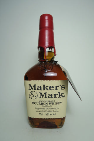 Maker's Mark Kentucky Straight Bourbon Whiskey - Bottled 2010 (45%, 70cl)
