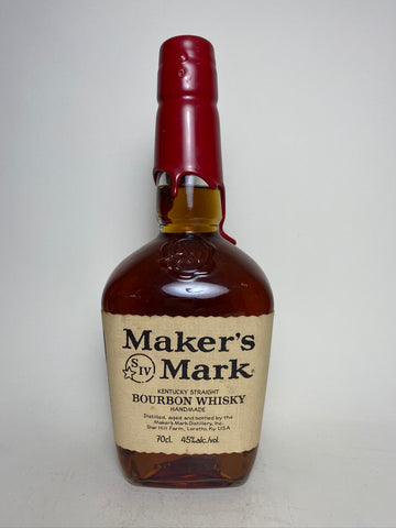 Maker's Mark Kentucky Straight Bourbon Whiskey - Bottled 2004 (45%, 70cl)