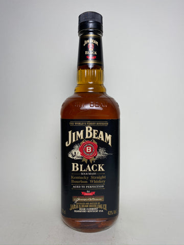 Jim Beam Black Label Kentucky Straight Bourbon Whisky - Bottled 2007 (43%, 70cl)