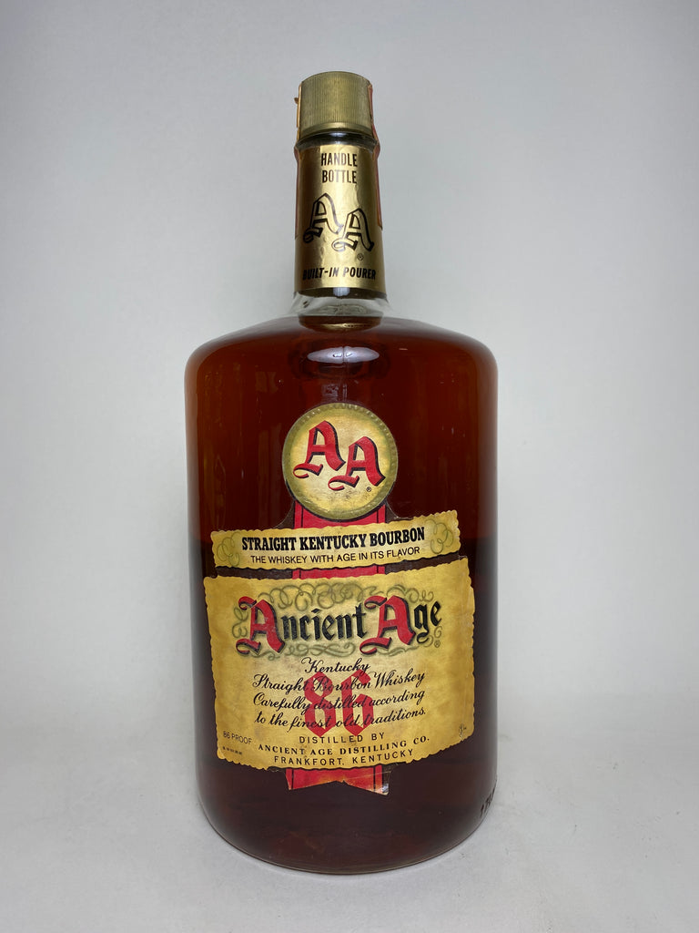 Ancient Age Kentucky Straight Bourbon - 1970s (43%, 175cl)