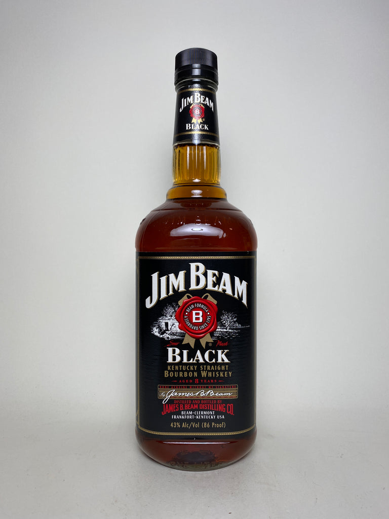 Jim Beam 8YO Black Label Kentucky Straight Bourbon Whiskey - Distilled 1991 / Bottled 1999 (43%, 100cl)