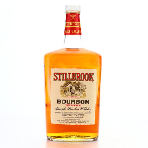 American Distilling Company's Stillbrook 4YO American Deluxe Straight Bourbon Whiskey - Distilled 1969 / Bottled 1973 (45%, 190cl)