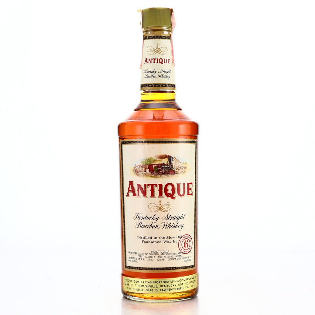 Frankfort Distilling Company's Antique 6YO Kentucky Straight Bourbon Whisky - 1970s (43%, 75cl)