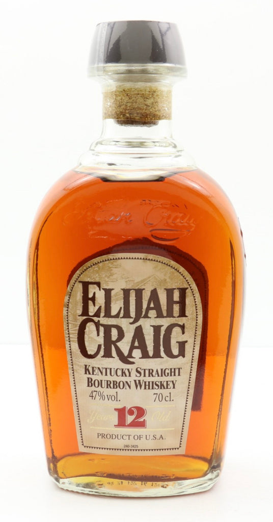 Elijah Craig 12 Year Old Kentucky Straight Bourbon Whiskey - Distilled 2004 / Bottled 2016 (47%, 70cl)