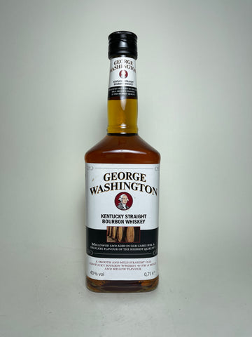 George Washington Kentucky Straight Bourbon Whiskey - 1990s (40%, 70cl)