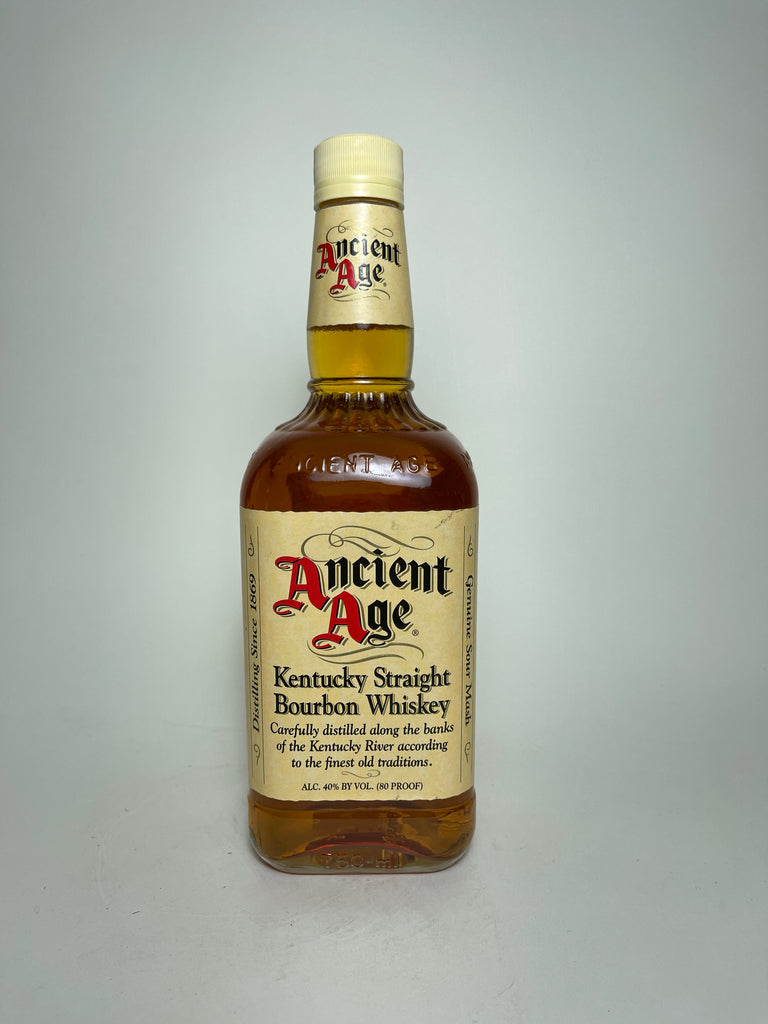 Ancient Age Kentucky Straight Bourbon Whiskey - Bottled 2003 (40%, 75cl)