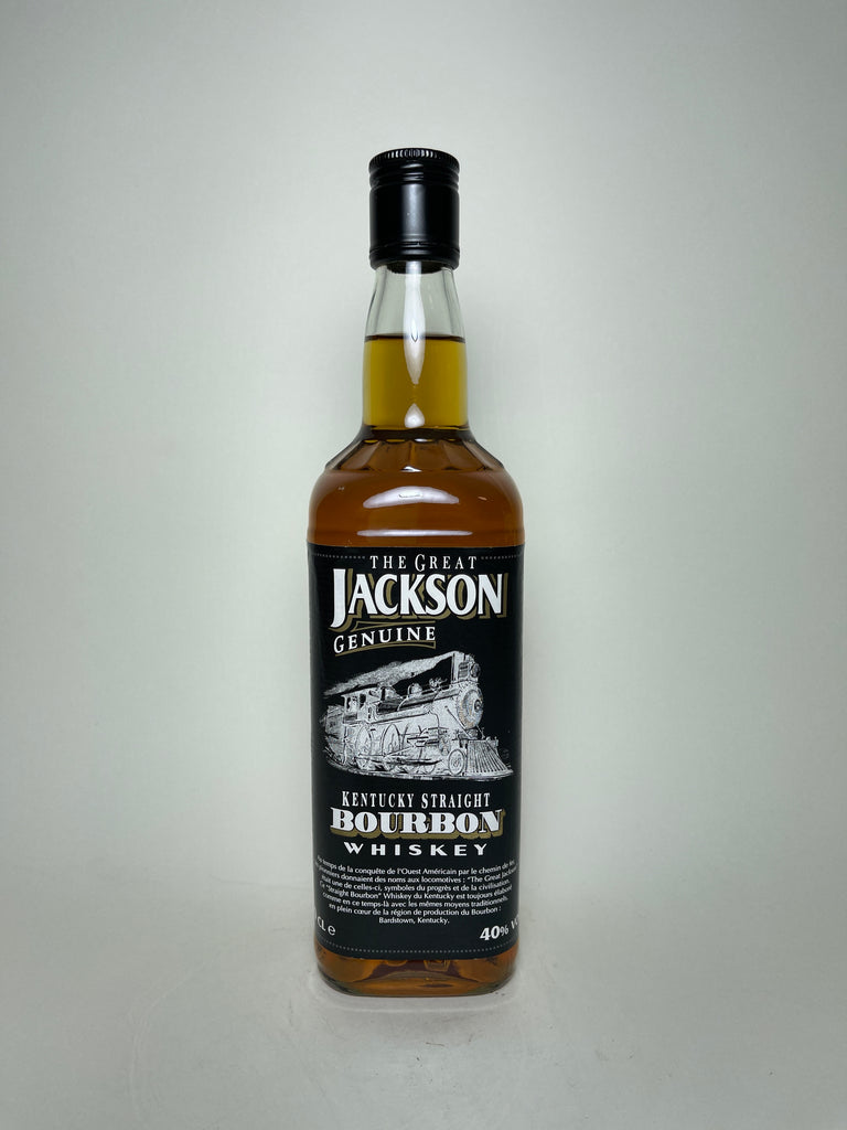 The Great Jackson Genuine Kentucky Straight Bourbon Whiskey - post-1990 (40%, 70cl)