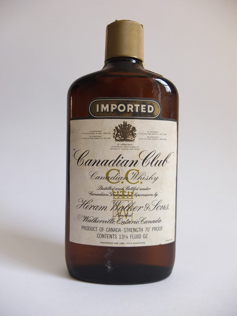 Canadian Club Blended Canadian Whisky - Distilled 1965 (40%, 37.5cl)