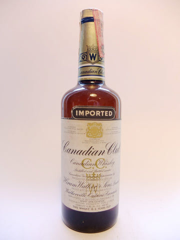 Canadian Club 6YO Blended Canadian Whisky - Distilled 1979, Bottled 1985 (40%, 75cl)