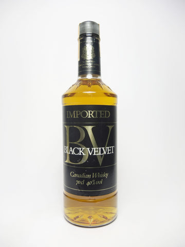 Black Velvet Canadian Whisky - Distilled 1983 (40%, 70cl)