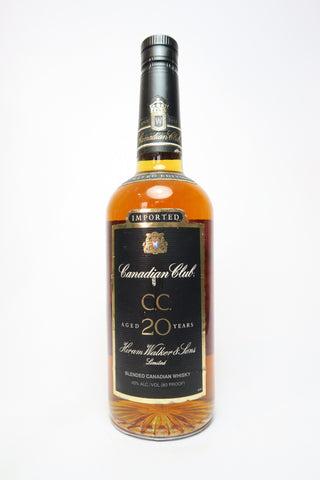 Canadian Club 20YO Limited Edition Blended Canadian Whisky - Bottled 1995 (40%, 75cl)