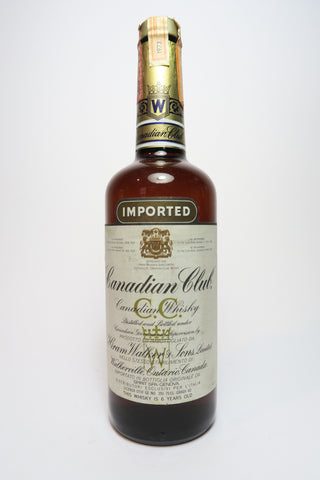 Canadian Club 6YO Blended Canadian Whisky - Distilled 1973 (40%, 75cl)