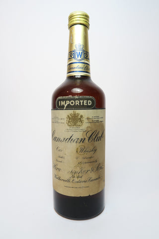 Canadian Club Blended Canadian Whisky - 1960s (40-43%, 75cl)