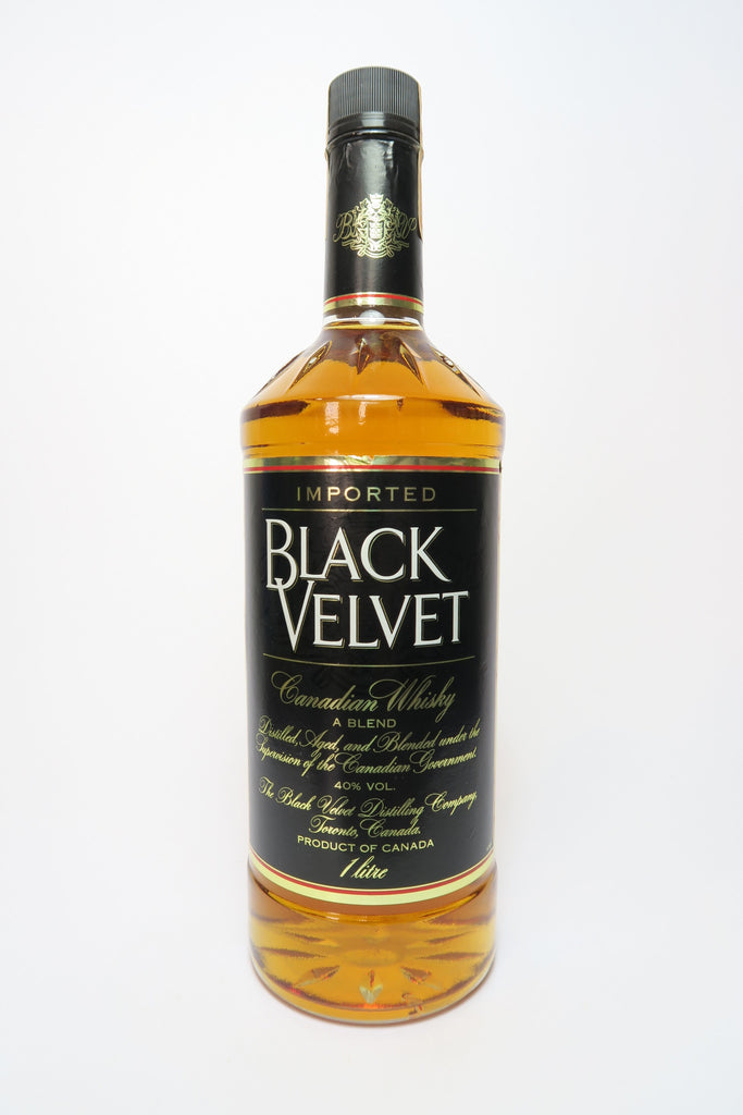 Black Velvet Blended Canadian Whisky - Distilled 1985 (40%, 100cl)