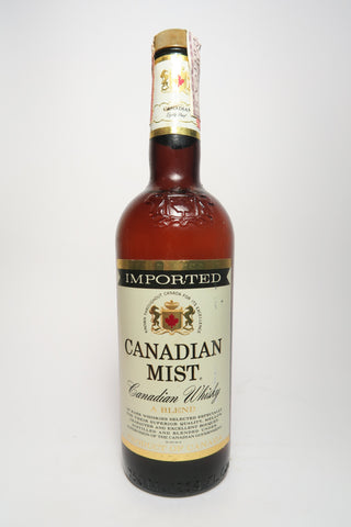 Canadian Mist 3YO Blended Canadian Whisky - 1970s (40%, 75cl)