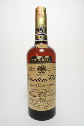 Canadian Club 6YO Blended Canadian Whiskey - Distilled 1957 / Bottled 1963 (43.4%, 75cl)
