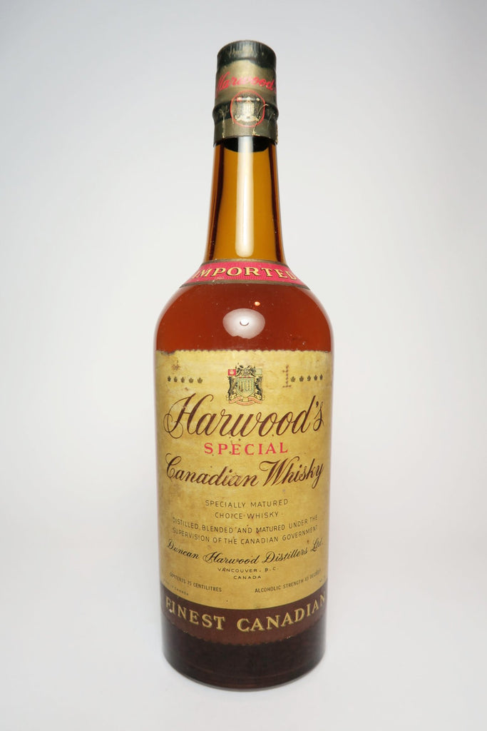 Duncan Harwood's Special Canadian Whisky - 	1920s (43%, 75cl)