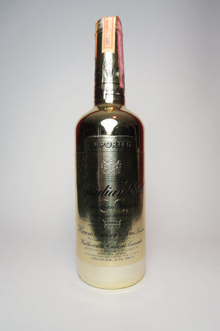 Canadian Club Blended Canadian Whiskey [NB: 1976 Summer Olympics in Montreal] - Distilled 1971 / Bottled 1976 (40%, 75cl)