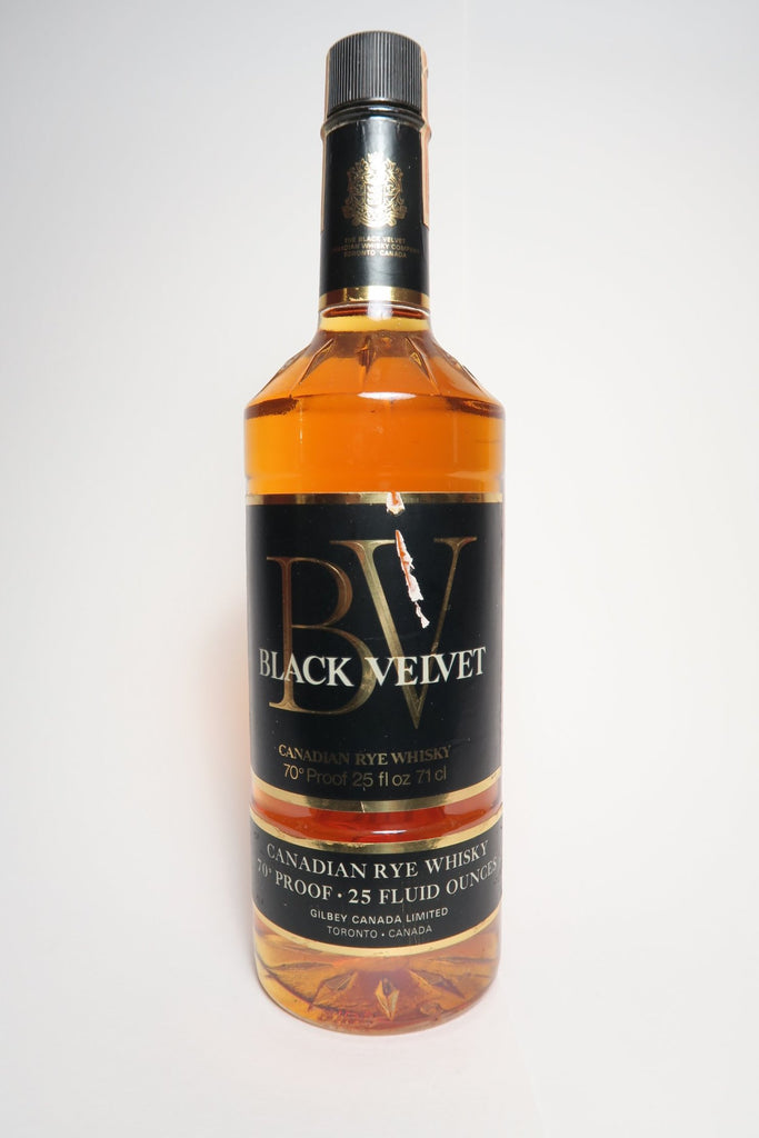 Black Velvet Canadian Rye Whisky - Distilled 1973 (40%, 71cl)