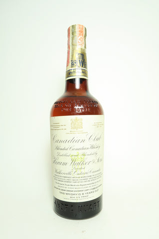 Hiram Walker's Canadian Club V.O. 6YO Blended Canadian Whisky - Distilled 1937 / Bottled 1943 (45.2%, 75.7cl)