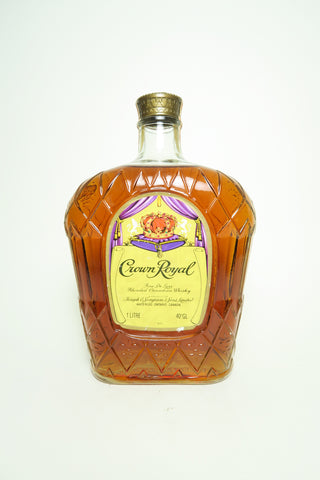 Seagram's Crown Royal Blended Canadian Whiskey - Distilled 1978, (40%, 100cl)