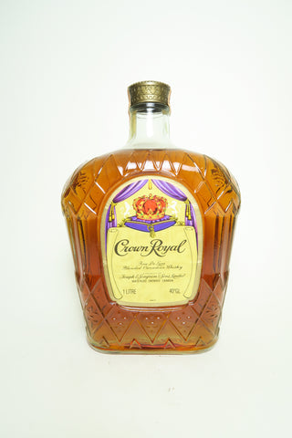 Seagram's Crown Royal Blended Canadian Whiskey - Distilled 1983, (40%, 100cl)
