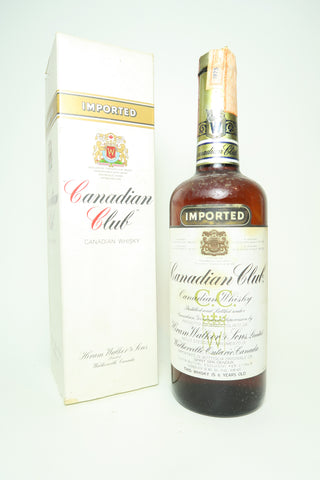 Canadian Club 6YO Blended Canadian Whiskey - Distilled 1975 / Bottled 1981, (40%, 75cl)