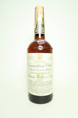 Canadian Club 6YO Blended Canadian Whisky - Distilled 1949 / Bottled 1955, (45.2%, 75.7cl)