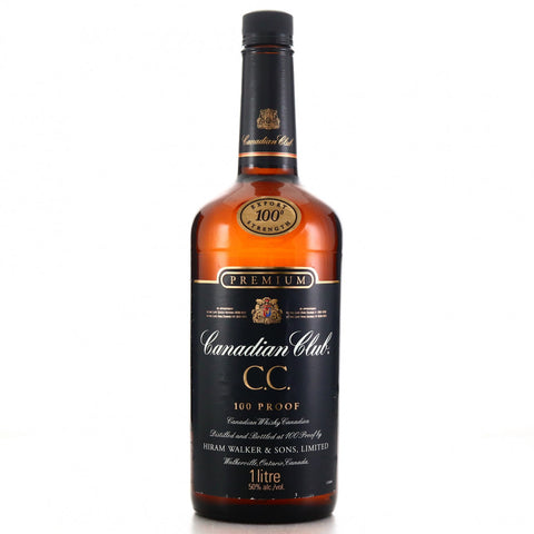 Canadian Club 12YO Premium Export Strength Blended Canadian Whisky - 1990s (50%, 100cl)
