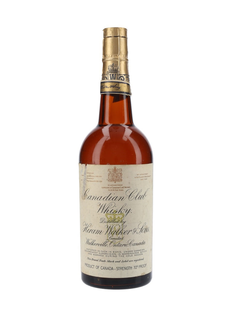 Canadian Club Blended Canadian Whisky - Bottled post-1936 (40%, 75cl)