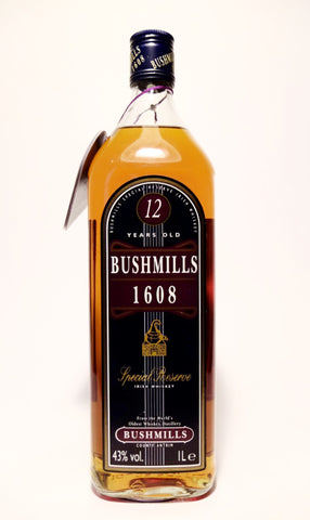 Bushmills 12 Year Old Special Reserve Irish Whiskey - 1990s (43%, 100cl)