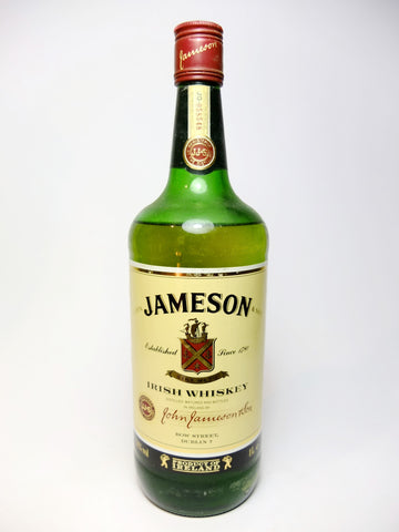 John Jameson & Son's Blended Irish Whiskey - 1980s (43%, 100cl)
