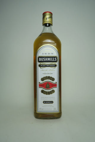 Bushmills Blended Irish Whiskey - post-1990 (40%, 100cl)